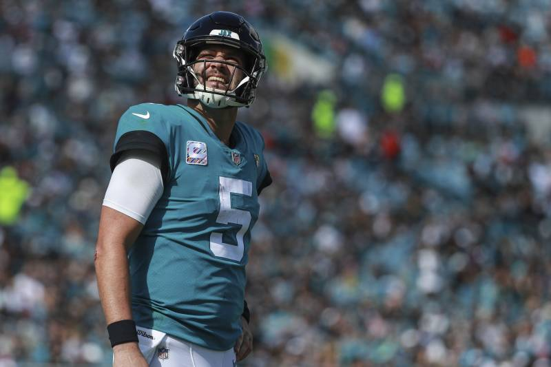 Blake Bortles on a 'Short Leash' But Keeps Starting Job