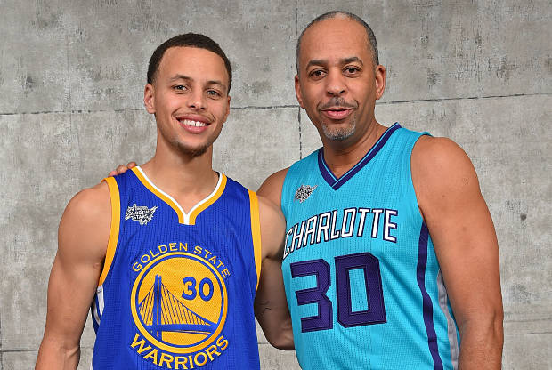 Steph Curry and Dell Curry Father/Son Duo Now 2nd All-time in Points