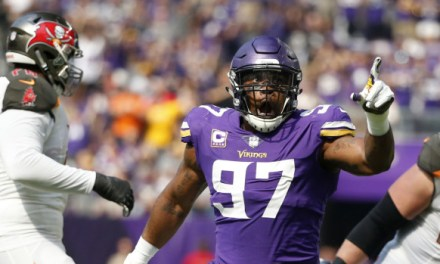 Everson Griffen is Rejoining the Vikings on Wednesday