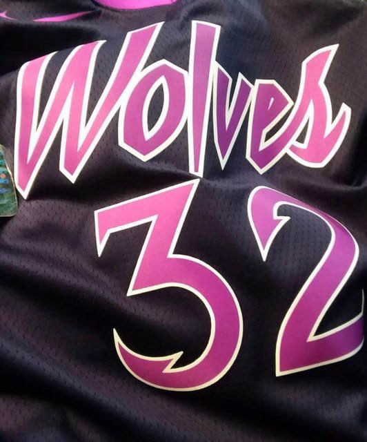 The Timberwolves' Prince Inspired Jerseys Have Been Leaked