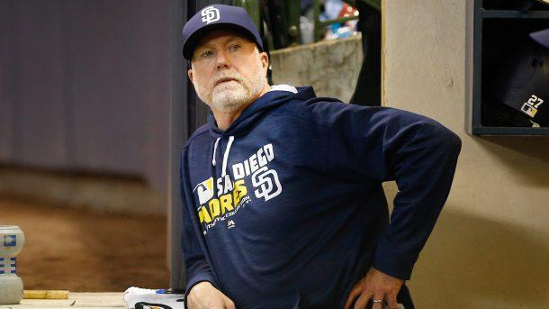 Mark McGwire Stepping down as Padres' bench Coach