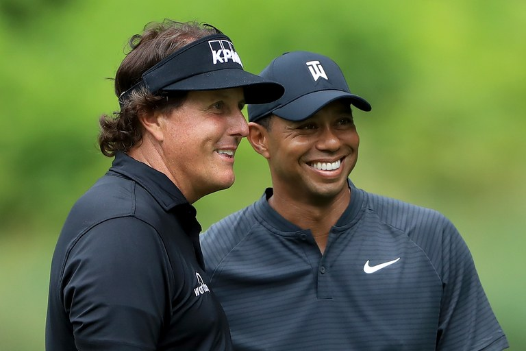 Phil Mickelson Will be Betting Tiger Woods 50k on Putts