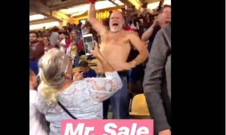Chris Sale's Shirtless Father Allen Sale Won the World Series