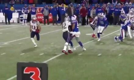 Tom Brady Got Destroyed Throwing a Block for Julian Edelman