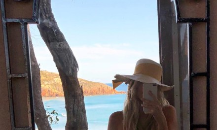 Gronk's Girlfriend Camille Kostek Goes Topless in Australia for SI Swimsuit Photo Shoot