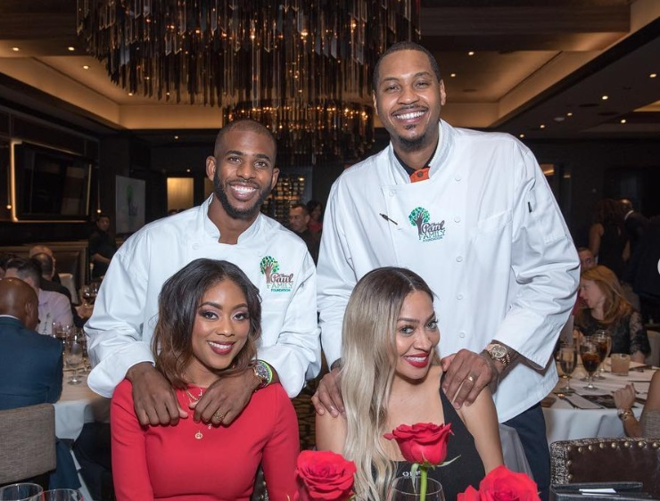 Chris Paul, Carmelo Anthony and James Harden Played Waiters at Mastros