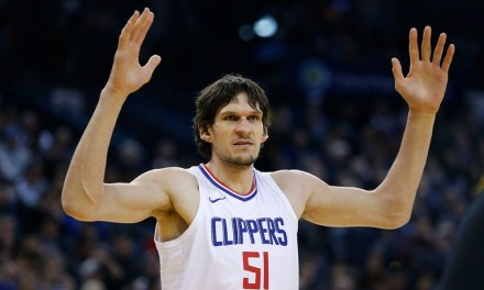 Boban Marjanović and Kristen Chenoweth is a Sight to See