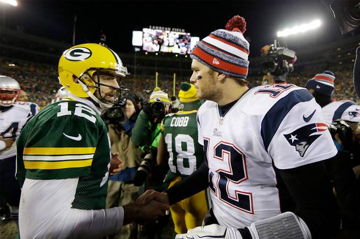 Aaron Rodgers Says It's Clear that Tom Brady is the GOAT