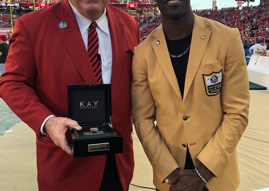 T.O. Gets Hall Ring; 'No regrets' Skipping Induction
