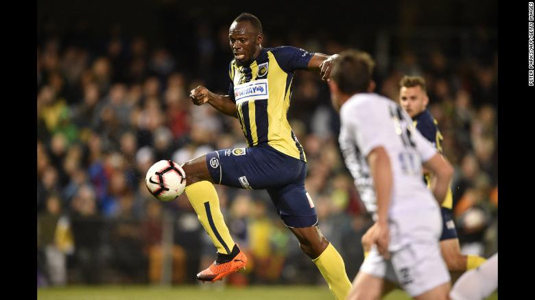 Usain Bolt's Career as a Footballer in Australia Has Come to an End