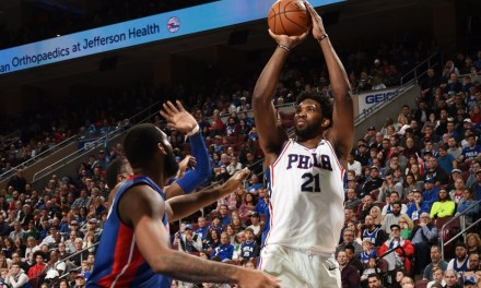 Joel Embiid Posterizes Andre Drummond on Social Media After Sixers Win Over Pistons