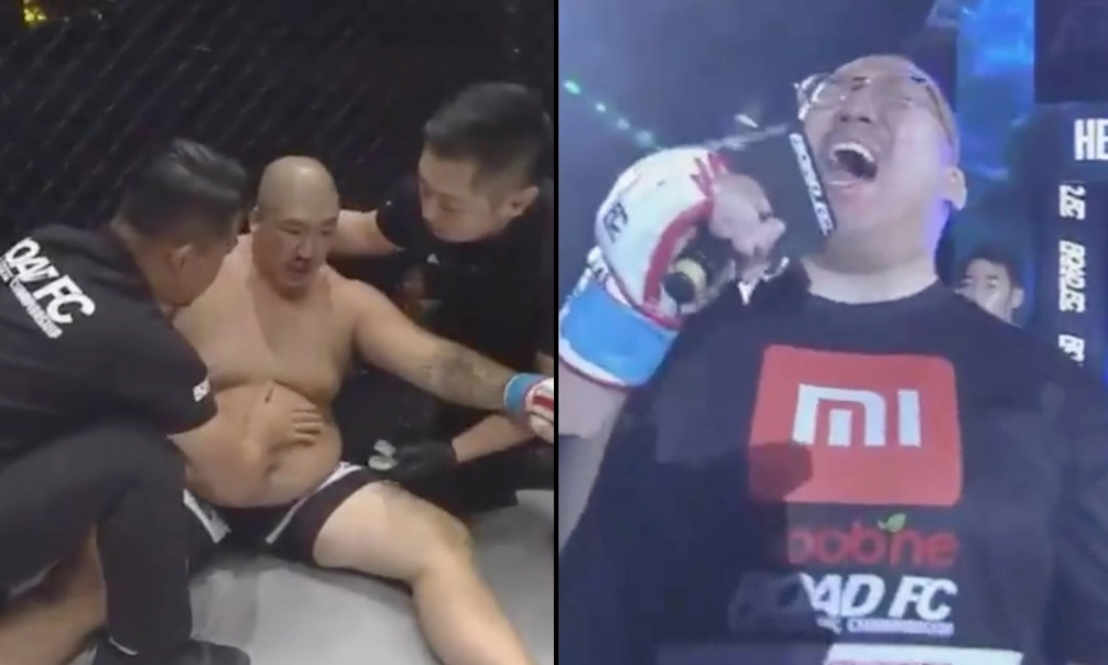 MMA fighter Heo Jae-Hyuk Sang Imagine Dragons Before Losing Fight in 20 Seconds