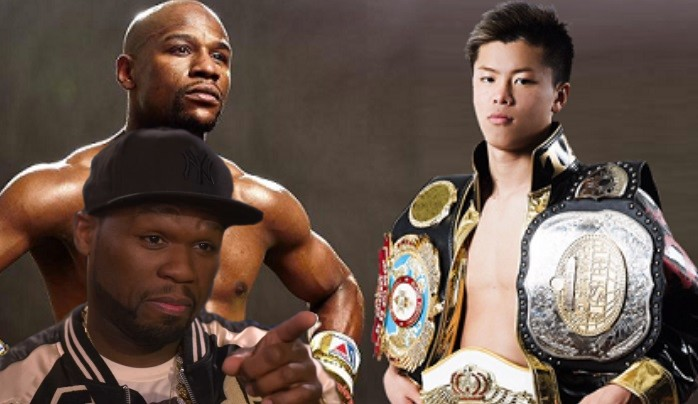 50 Cent Calls Out Floyd Mayweather's New Fight: He's 'Fighting A Uber Driver'