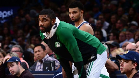 Kyrie Irving Fined $25K for Heave, still salty about Shot