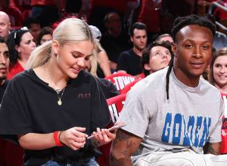 Is Model Amina Blue Pregnant with DeAndre Hopkins' Baby?