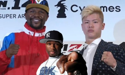 50 Cent Trolls Floyd Mayweather For Backing Out of Fight