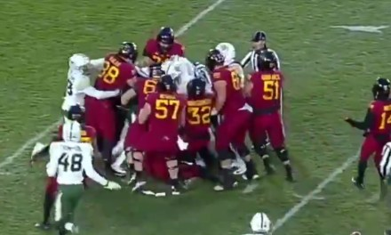 Brawl Broke Out During Iowa State and Baylor Game