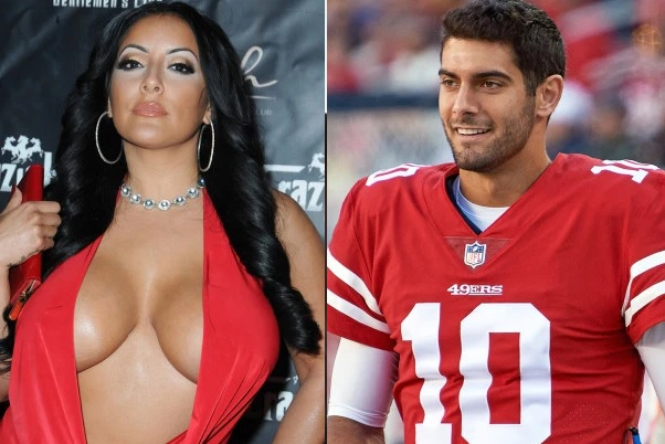 Jimmy Garoppolo Porn Star Date Kiara Mia Gushes Over His Sex During Strip Club Appearance