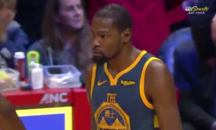"""Video of Kevin Durant after Altercation with Draymond Green Shows Him Saying """"That's Why I'm Out"""""""