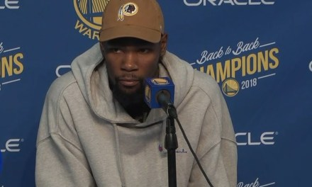 Kevin Durant Says He Hasn't Worked Things Out with Draymond Green