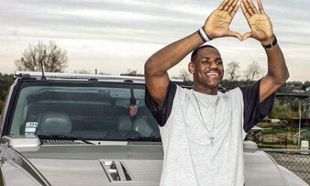 LeBron James' High School Hummer Up for Auction