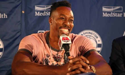 """Someone Yelled Out """"Brick"""" as Dwight Howard was Taking Free Throws after Friday Night's Game"""