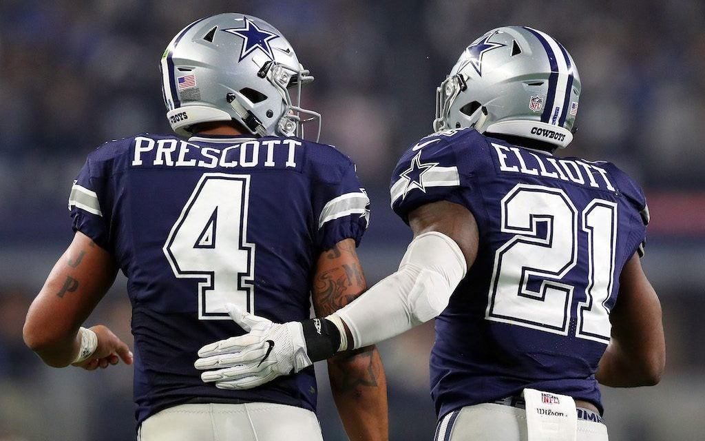 The Cowboys Beat the Falcons on a Last Second Field Goal