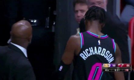 Miami's Josh Richardson Was Ejected for Throwing His Shoe into the Stands