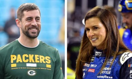 Danica Patrick Tells The Story of how she and Aaron Rodgers Got Together
