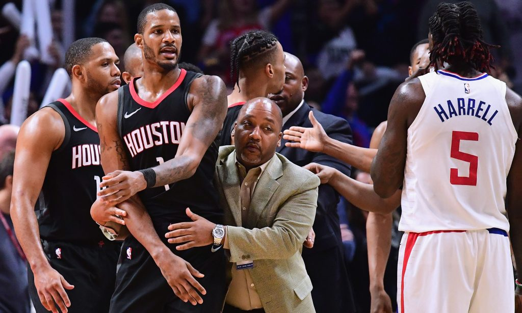 Austin Rivers explains why Trevor Ariza Stormed the Clippers' locker room