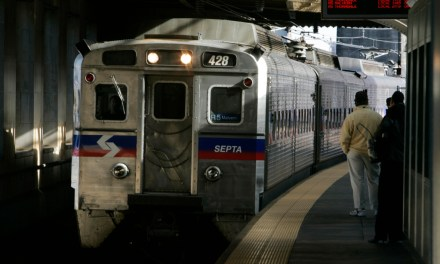 Watch: Eagles Fan Tries to Catch a Train, Collides with Pole