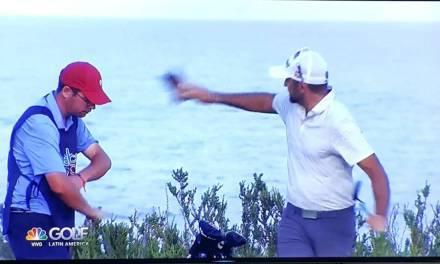 Golfer Throws Club Cover at Caddie Then Fires Him