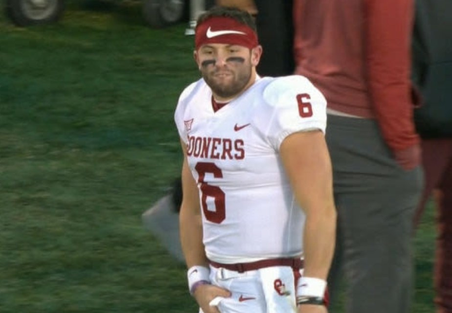 Baker Mayfield takes a Shot at the Draft Haters