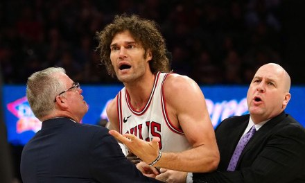 Robin Lopez Threw a Chair after On-Court Meltdown