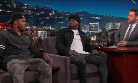 Jimmy Kimmel Told Eagles RBs Jay Ajayi And Corey Clement That Nick Foles Was Traded