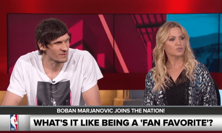 Boban Marjanovic taught the SportsNation crew how to dance