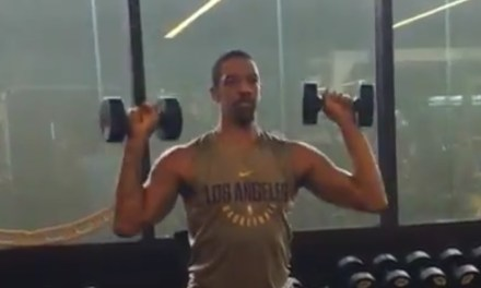Dwyane Wade Calls Out Channing Frye For A Workout Video