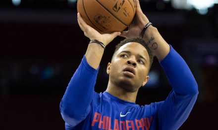 Markelle Fultz is Using VR goggles to Correct His Shot