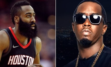 James Harden Parties with Diddy