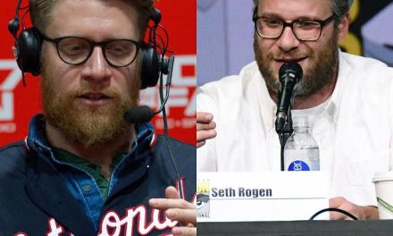 Nationals Pitcher Gets Made fun of for Looking like Seth Rogen
