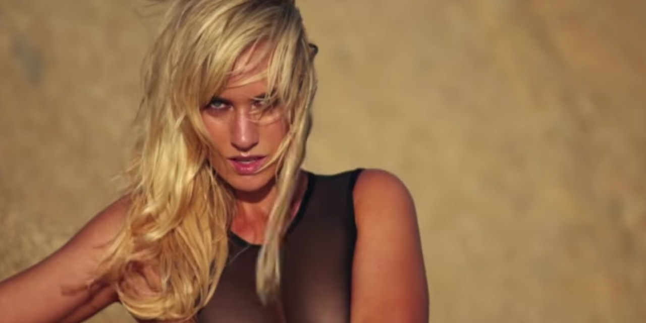 Golf Star Paige Spiranac Gets Down & Dirty For SIS Debut