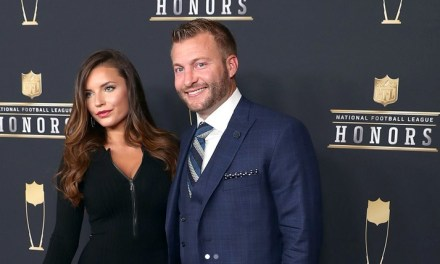 Sean McVay & Girlfriend Had Themselves a Fancy Weekend