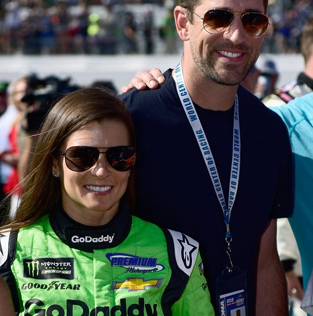 Aaron Rodgers and Danica Patrick Enjoy a Bike Ride in Mexico