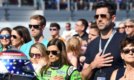 Danica Patrick's Dad Takes Shots at Aaron Rodgers over National Anthem protests