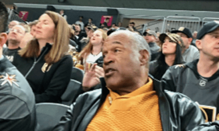 O.J. Simpson Spotted at a Las Vegas Golden Knights Game