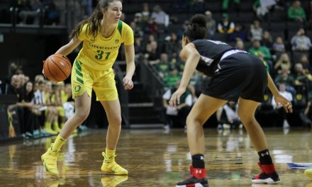 Oregon Women's Basketball Player Breaks Her Defender's Ankles With A Devastating Behind The Back Dribble