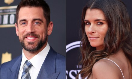 Danica Patrick and Aaron Rodgers are an In-N-Out Couple