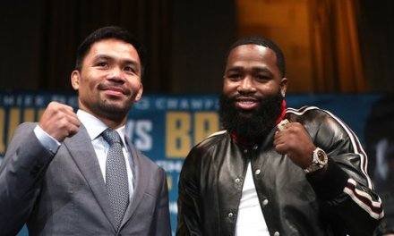Adrien Broner Was Being Extra at Manny Pacquiao Broner Press Conference