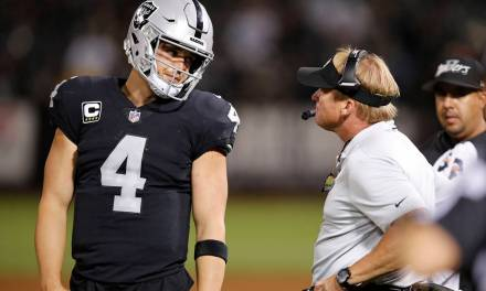 Derek Carr is Trying to Ruin the Raiders Chances to Get the Number One Overall Pick