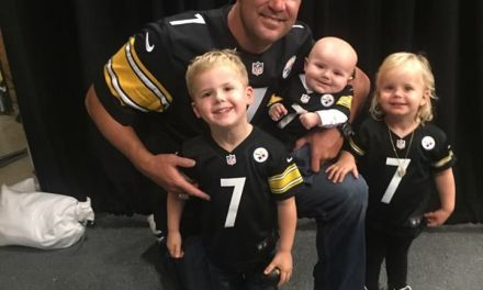 All Of Big Ben's Kids Want James Conner Jerseys for the Holidays